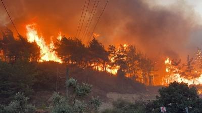Πρώτο θέμα στα τουρκικά μέσα, οι καταστροφικές πυρκαγιές στην Ελλάδα – Η Τουρκία προτείνει κοινό μηχανισμό πρόληψης
