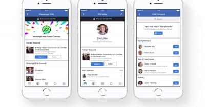 Το Facebook παρουσίασε εφαρμογή Messenger για παιδιά κάτω των 13 ετών