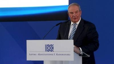 Καραμανλής: Ταραξίας η Τουρκία - Αναμφισβήτητη εθνική επιτυχία η συμφωνία Ελλάδας - Γαλλίας