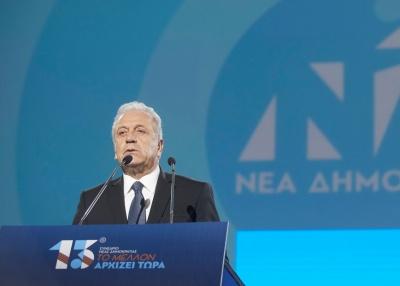 Συνέδριο ΝΔ - Αβραμόπουλος: Η Ελλάδα της κοινωνικής και εθνικής ενότητας είναι ο στόχος μας