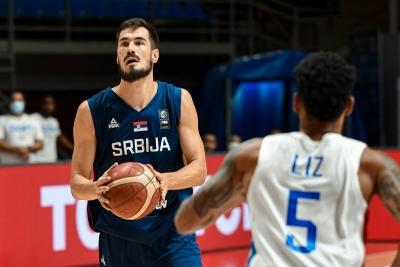 """Προολυμπιακά τουρνουά: Το ντέρμπι έγινε """"περίπατος"""" στο Βελιγράδι"""