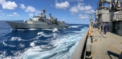 Ολοκληρώθηκαν οι ασκήσεις του Πολεμικού Ναυτικού σε Αιγαίο, Μυρτώο και Κρητικό πέλαγος