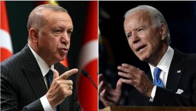 Πυρά Erdogan σε Biden: Κινδυνεύετε να χάσετε έναν πολύτιμο φίλο – Στηρίζετε τρομοκράτες