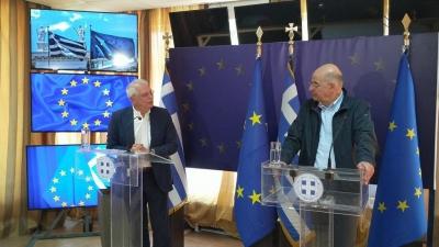 Οι 3 βασικές ελλείψεις στην έκθεση Borrell για Τουρκία - Δεν υπάρχει αναφορά σε casus belli - Τέλος, οι κυρώσεις