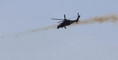 Σε πεδίο δοκιμών των τουρκικών οπλικών συστημάτων το Afrin (video)