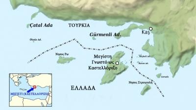 Εμπρηστική ρητορική από Τουρκία: Η Ελλάδα έχει στείλει επιθετικά σκάφη στο Καστελόριζο