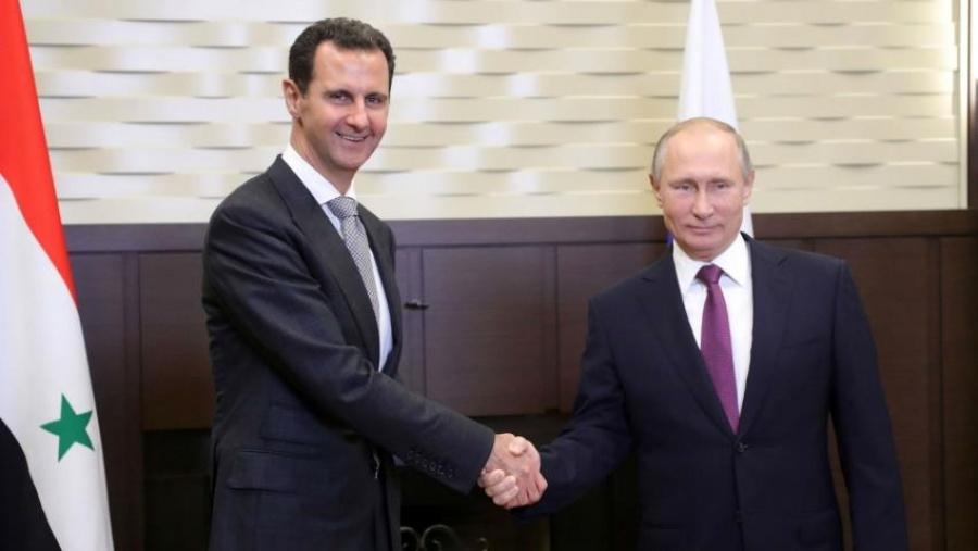 Ο Putin επέκρινε την ξένη ανάμιξη στη Συρία