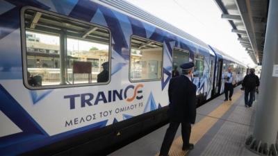ΤΡΑΙΝΟΣΕ: Υποχρεωτικά τα αρνητικά rapid tests για τους ανεμβολίαστους επιβάτες