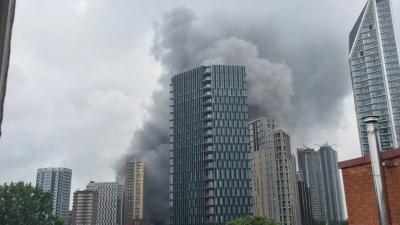 Λονδίνο: Μεγάλη φωτιά σε σταθμό του μετρό