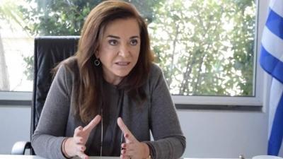 Ντόρα Μπακογιάννη: O κίνδυνος έκρηξης της κοινωνίας πρέπει να συνοπολογιστεί