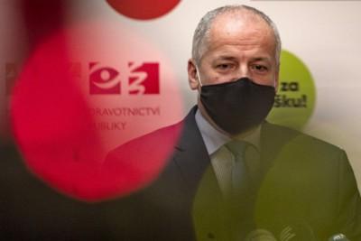 Αποπέμφθηκε ο Τσέχος υπουργός Υγείας: Πιάστηκε να παραβιάζει τα μέτρα