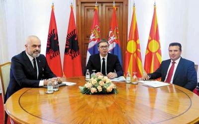 Σερβία. Βόρεια Μακεδονία και Αλβανία: Προχώρησαν σε εμπορική συμφωνία λόγω κωλυσιεργίας στη διεύρυνση της ΕΕ