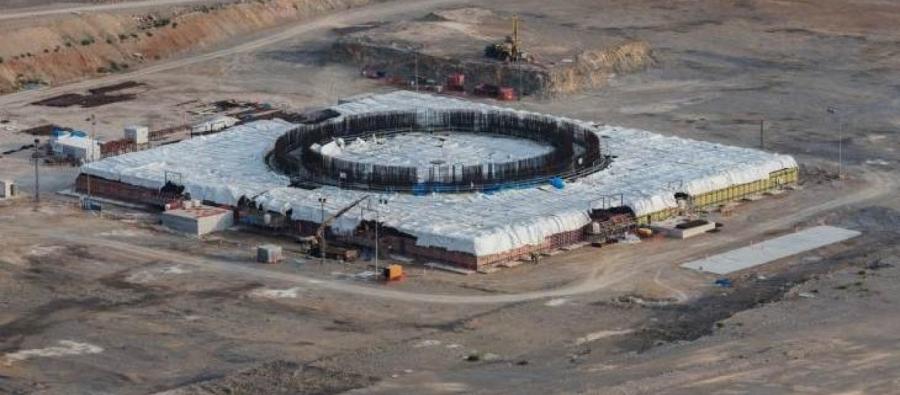 Οι πρώτες εικόνες από το πυρηνικό εργοστάσιο στο Akkuyu της Τουρκίας