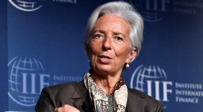 Lagarde: Για τις δημοσιονομικές πολιτικές και τα πρωτογενή πλεονάσματα συζήτησα με τον Τσακαλώτο