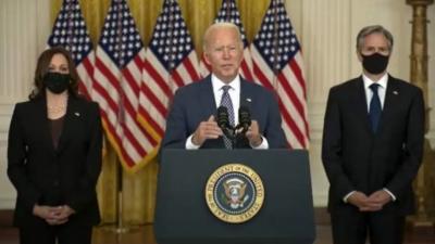 Biden: Είμαστε σε επαφή με τους Taliban, θα υπάρξει άμεση απάντηση σε περίπτωση επίθεσης - Δεν μπορώ να εγγυηθώ την τελική έκβαση