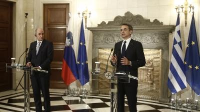Μητσοτάκης: Η Ελλάδα δεν απειλεί κανέναν αλλά δεν επιτρέπει και σε κανέναν να την απειλεί