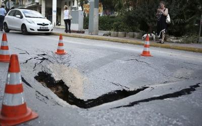 Χαλάνδρι: Αποκαταστάθηκε το πρόβλημα στην οδό Παπανικολή – Δίνεται στην κυκλοφορία ο δρόμος