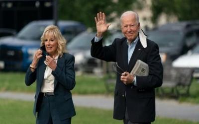 Biden (HΠΑ): Άφιξη στη Βρετανία, στον πρώτο σταθμό της ευρωπαίκής περιοδείας