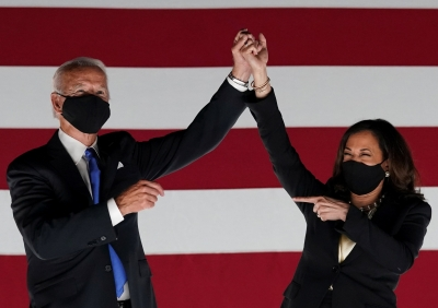 Joe Biden: «Η πρόεδρος Kamala και εγώ...» - Η γκάφα με την «προαγωγή» της Harris
