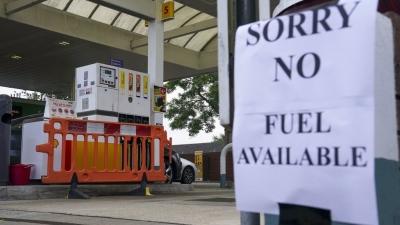 Βρετανία: Πανικός για τα καύσιμα, εξαντλήθηκε το 1/3 στα πρατήρια - Συνδρομή του στρατού;