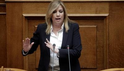 Γεννηματά: Καταστροφική η πολιτική της κυβέρνησης με το lockdown – ακορντέον