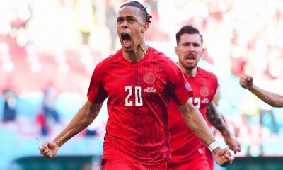 Δανία – Ισραήλ 2-0: Εκπληκτικό τρίλεπτο και ισχυρό προβάδισμα με Πόουλσεν και Κιάερ! (video)