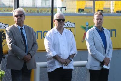 Μελισσανίδης στους παίκτες: «Έχουμε φτιάξει καλή ομάδα και συνεχίζουμε την ενίσχυση»