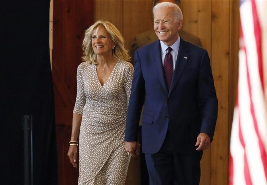 Το τρυφερό μήνυμα του Joe Biden στην σύζυγο του: Σ 'αγαπώ Jilly - Είμαι ευγνώμων