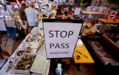 Γαλλία: Γενικεύονται οι αντιδράσεις για το υγειονονομικό «πάσο» - Πέμπτο Σαββατοκύριακο διαδηλώσεων