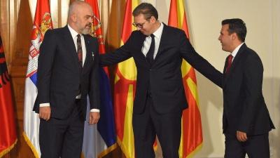 Αλβανία, Β. Μακεδονία και Σερβία, υπέγραψαν τη διακήρυξη δημιουργίας της «μίνι-Σένγκεν» των Βαλκανίων