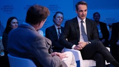 Η αποτίμηση της κυβέρνησης για τις επαφές Μητσοτάκη στο Νταβός: Αλλάζει η στάση των ξένων επενδυτών απέναντι στην Ελλάδα