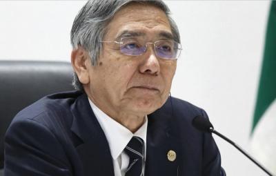 Kuroda (ΒoJ): Η πτώση του γεν οφείλεται στο ισχυρό δολάριο – Εάν χρειαστούν μέτρα, θα τα λάβουμε χωρίς δισταγμό