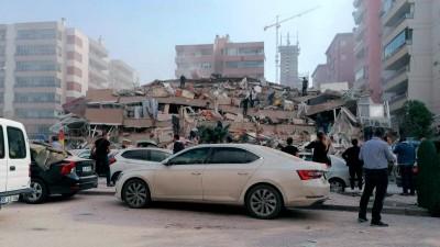 CΝΝ Turk: Μικρής έντασης τσουνάμι στη Σμύρνη – Εικόνες καταστροφής στην πόλη