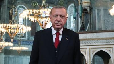 Αγία Σοφία: Θριαμβολογίες Erdogan και τουρκικού ΥΠΕΞ για τον ένα χρόνο από τη μετατροπή του ναού σε τζαμί
