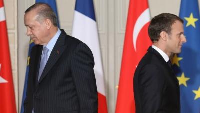 Erdogan κατά Macron: Δεν γνωρίζει ούτε τη γαλλική ιστορία - Ένας αρχάριος στην πολιτική