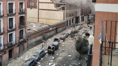 Έκρηξη στο κέντρο της Μαδρίτης με 2 νεκρούς - Σοβαρές υλικές ζημιές