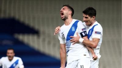 Ελλάδα - Σουηδία 1-0: Ο Μπακασέτας με υπέροχο πλασέ ανοίγει το σκορ! (video)