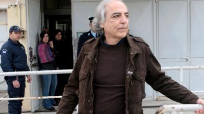 Κουφοντίνας - Στο ΣτΕ η αίτηση για ακύρωση της μεταγωγής του στις φυλακές Δομοκού