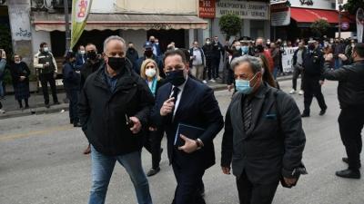 Πέτσας: Κατευθυνόμενες από τον ΣΥΡΙΖΑ οι όποιες διαμαρτυρίες για λιανεμπόριο στην Πάτρα