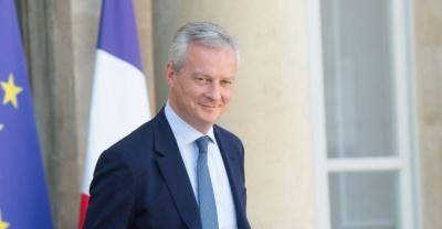 Le Maire (Γάλλος ΥΠΟΙΚ): Συρρίκνωση της γαλλικής οικονομίας κατά 8% το 2020