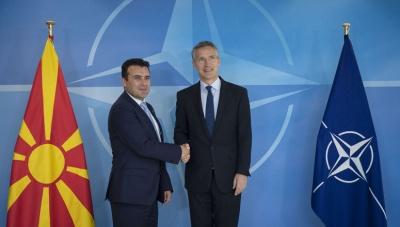«Πρόσκληση» του ΝΑΤΟ στην ΠΓΔΜ για έναρξη των διαπραγματεύσεων ένταξης