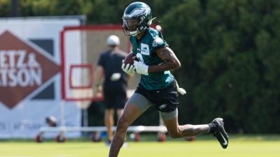 Philadelphia Eagles: Εκτός προετοιμασίας ο DeVonta Smith από τραυματισμό στο γόνατο!