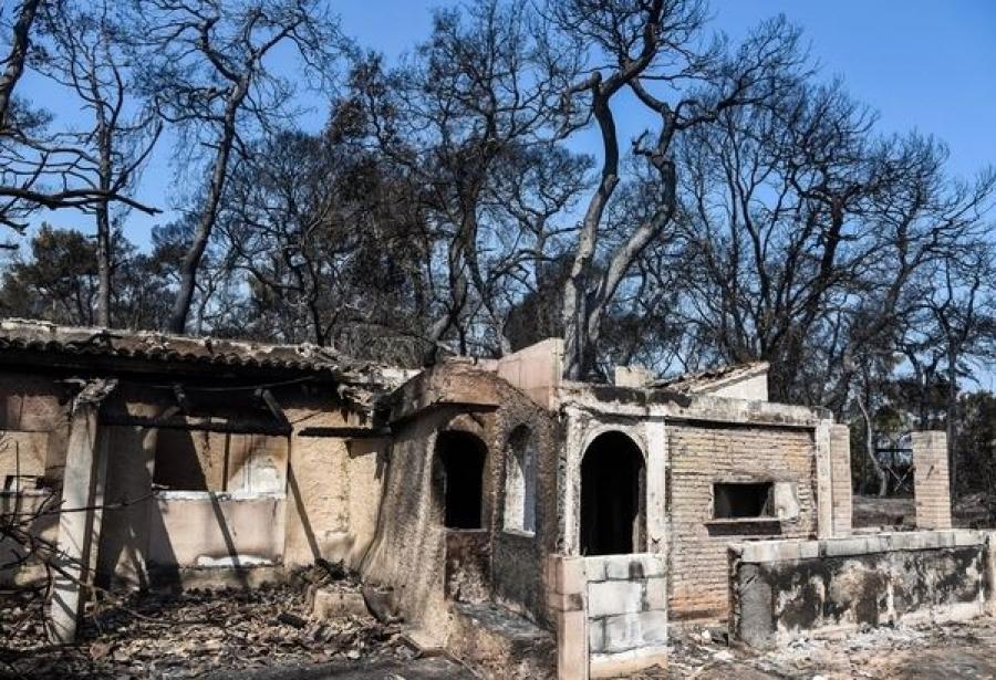 Σε κατάσταση έκτακτης ανάγκης οι πυρόπληκτες περιοχές της Αχαΐας