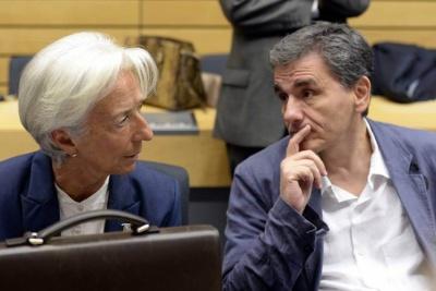 Ανοιχτό παραμένει το ζήτημα του χρέους μετά και τη συνάντηση Τσακαλώτου - Lagarde - Η κυβέρνηση θέλει λύση στο Eurogroup στις 21/6