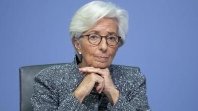 Lagarde (ΕΚΤ): Δεδομένης της αβεβαιότητας, η διευκολυντική πολιτική θα είναι απαραίτητη τους επόμενους μήνες