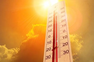 Καύσωνας έως 41 βαθμούς η θερμοκρασία αύριο 10/8
