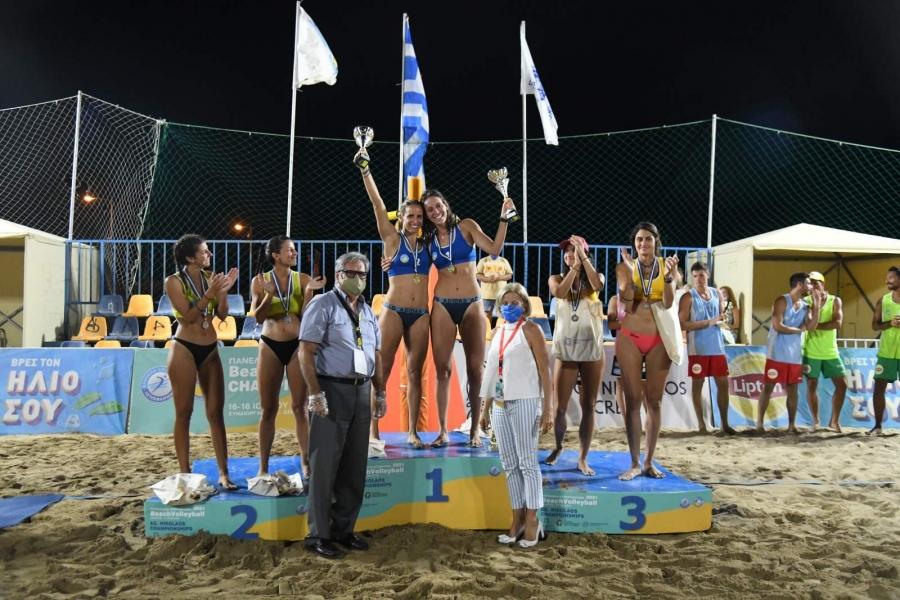 Πρωταθλήτριες Ελλάδας οι Βίκυ Αρβανίτη, Πένυ Καραγκούνη!