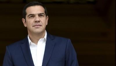 Τσίπρας: Βαθιά ύφεση, περικοπές και μνημονιακές μεταρρυθμίσεις δεν αφήνουν περιθώριο για πανηγυρισμούς
