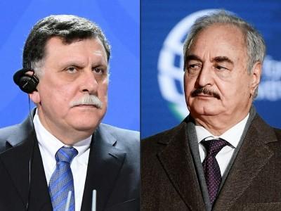 ΟΗΕ - Λιβύη: Haftar και Sarajj στον 3ο γύρο συνομιλιών της κοινής στρατιωτικής επιτροπής