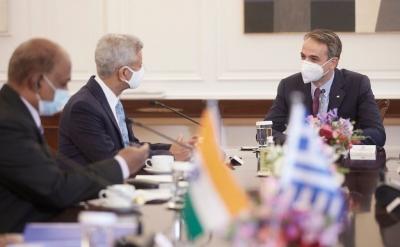 Μητσοτάκης: Η Ελλάδα θα ήταν το φυσικό σημείο εισόδου για τις ινδικές επιχειρήσεις στην ευρωπαϊκή αγορά